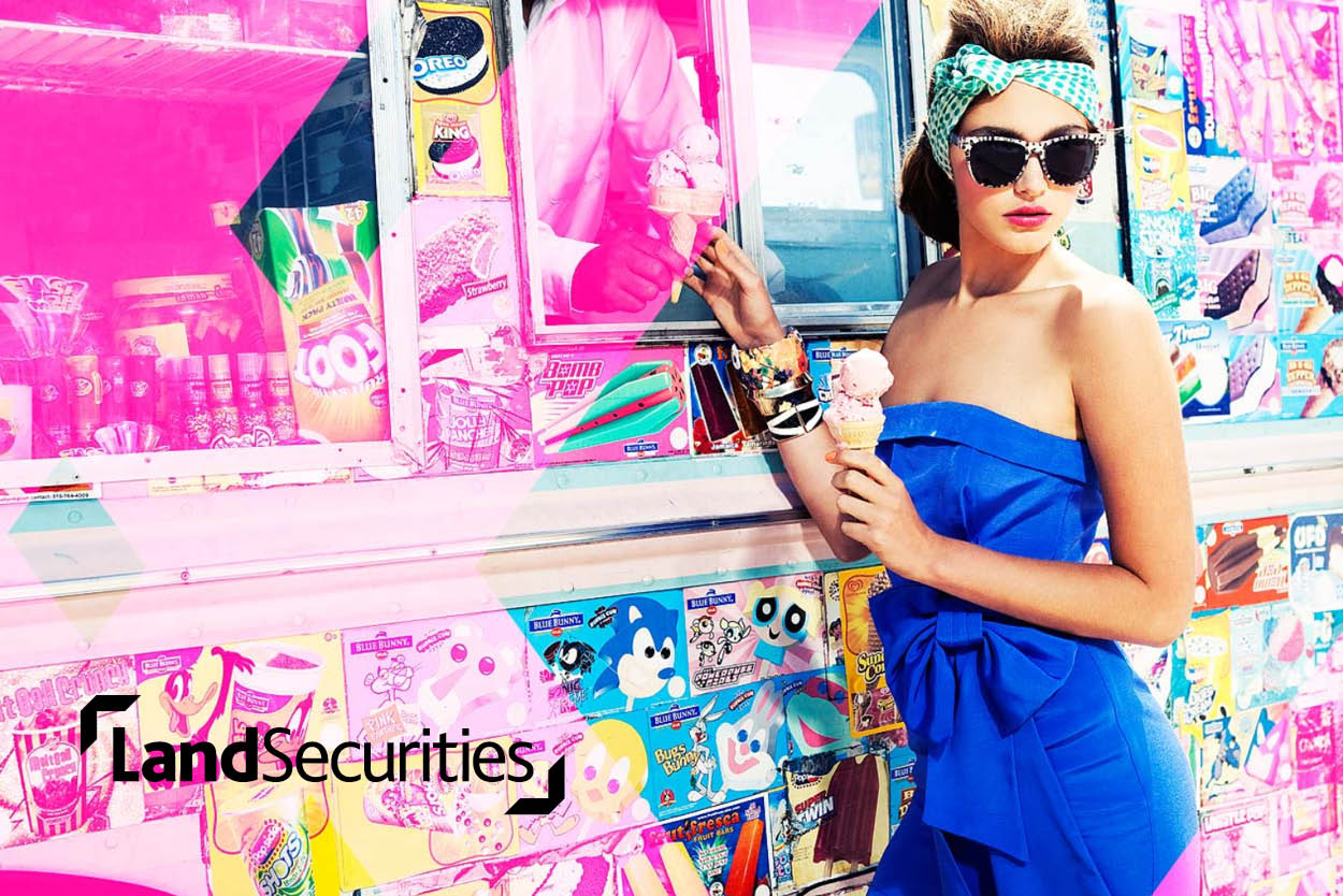 Finding a new way to attract  fashion and catering brands.